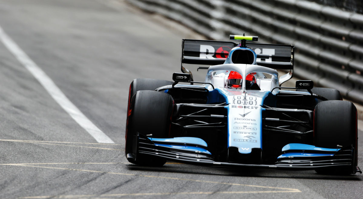 Robert Kubica (Williams) podczas Grand Prix Monako