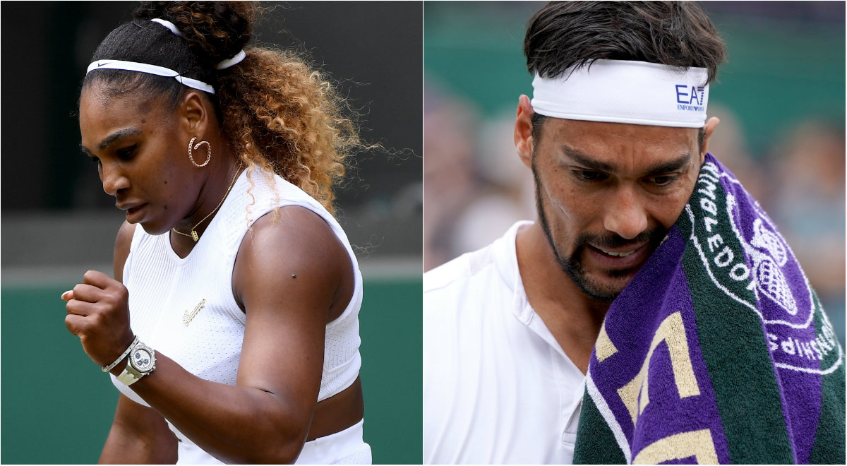 Serena Williams i Fabio Fognini