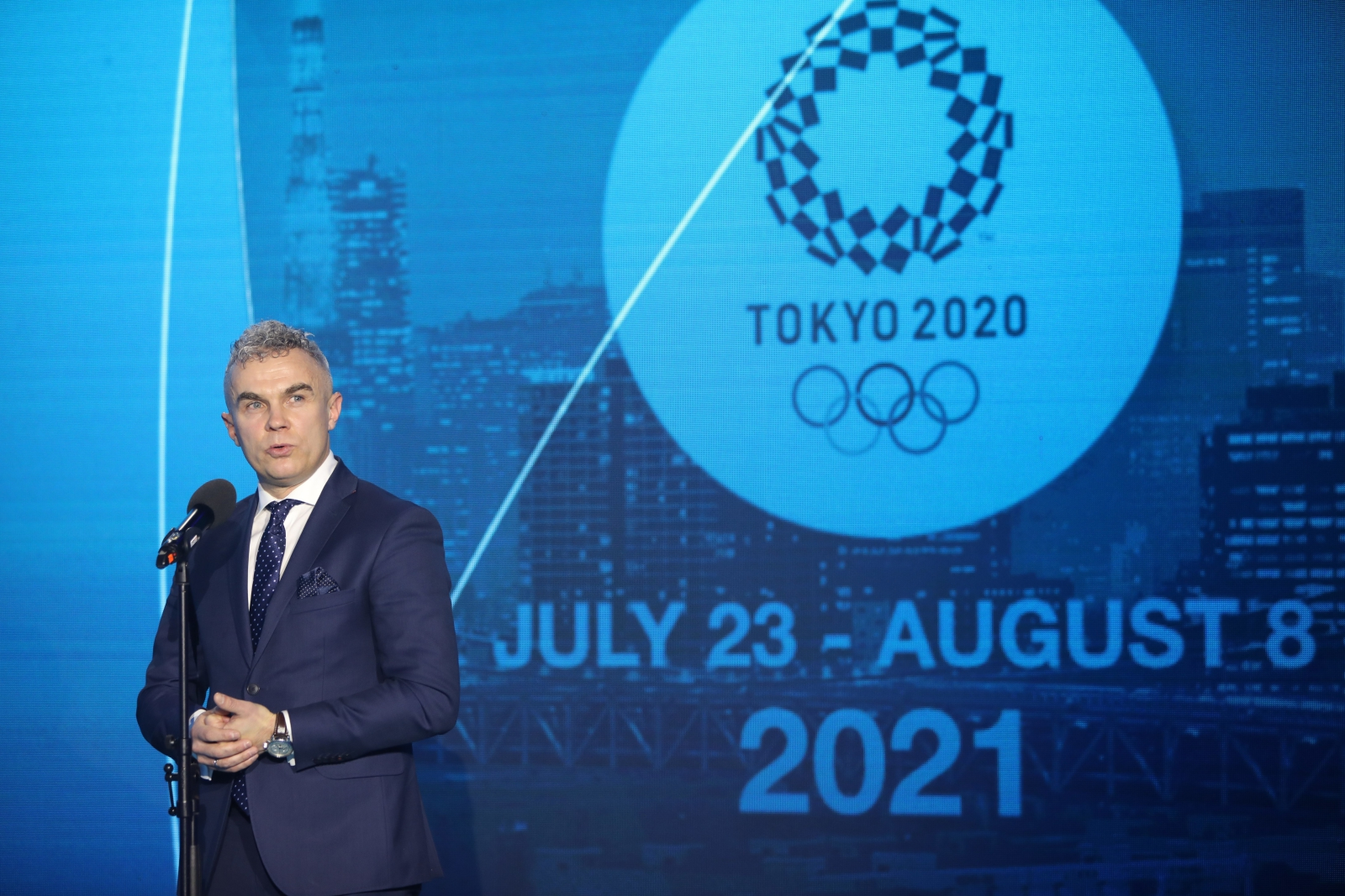 Head of the Polish Olympic Mission Tokyo 2020