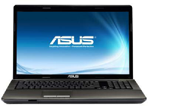 Notebook Asus K93SM