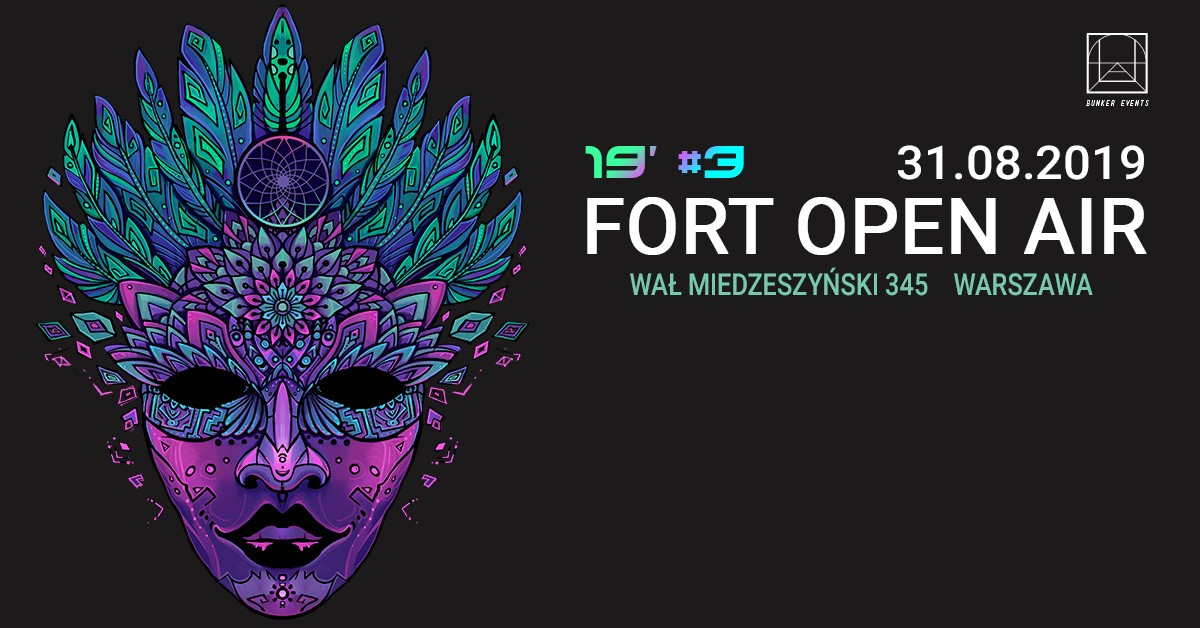 Plakat Fort open Air 3/mat. pras.