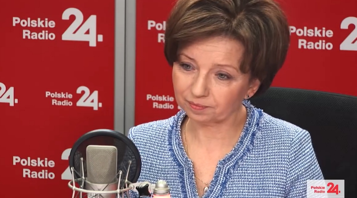 Marlena Maląg, Polands minister for family, labour and social policy.