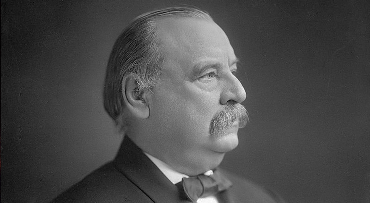 Grover Cleveland - 22. i 24. prezydent USA. Fot.: Wikimedia Commons/dp
