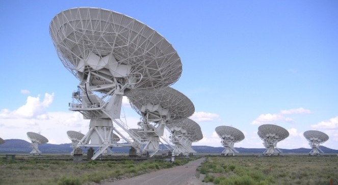 Radioteleskop, Socorro, New Mexico, USA
