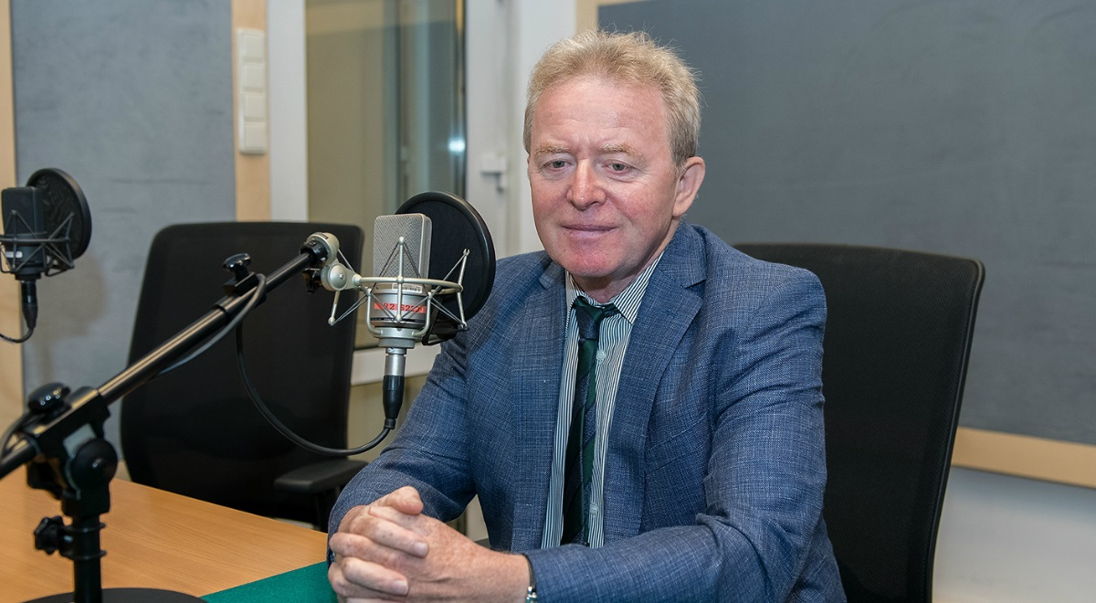 Janusz Wojciechowski. Photo: Wojciech Kusiński/Polish Radio