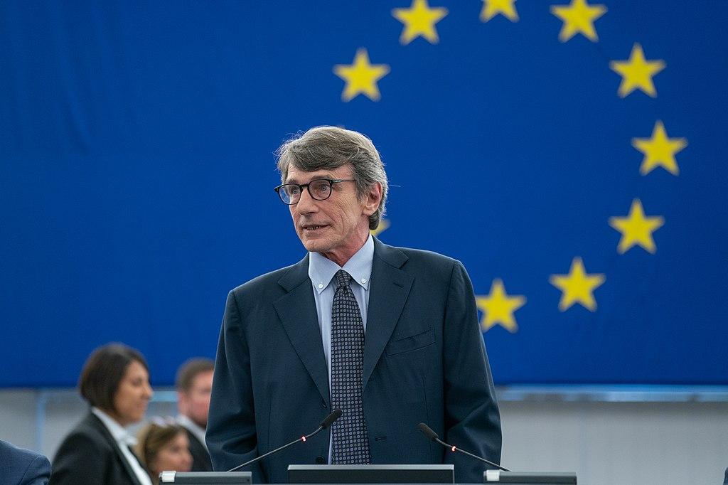 David-Maria SASSOLI, the President of the European Parliament.