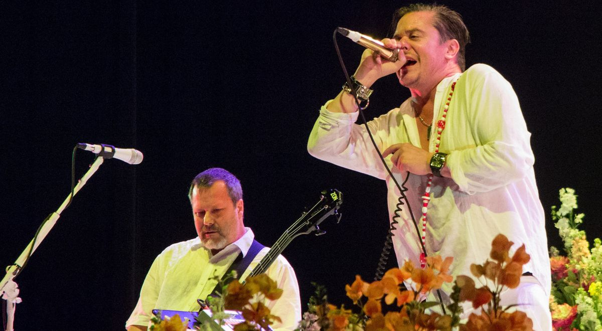 Faith No More na koncercie w Los Angeles, 2015