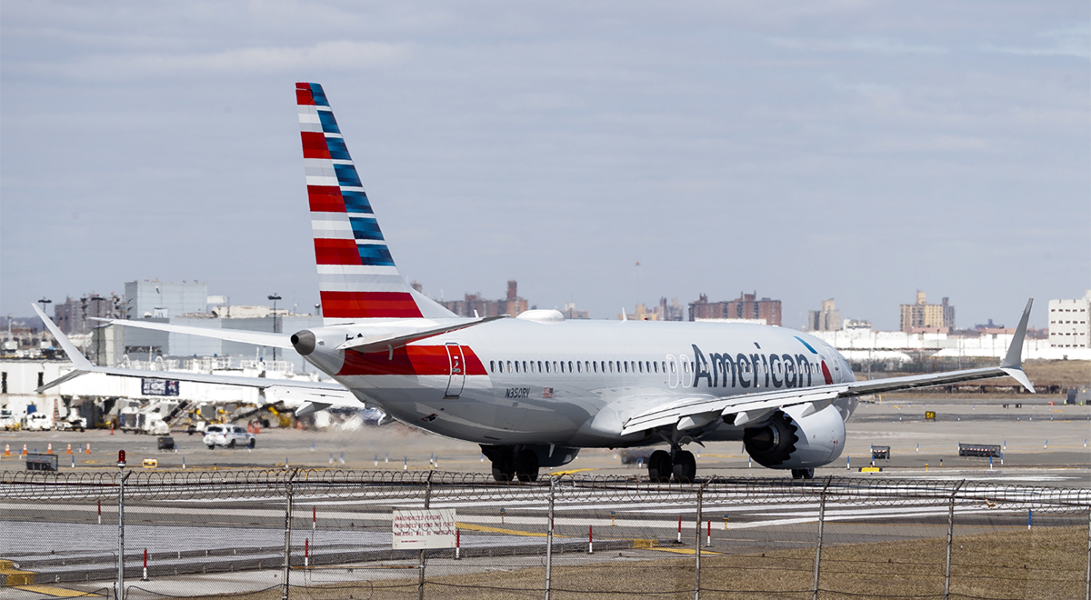 Boeing 737 Max 8 American Airlines