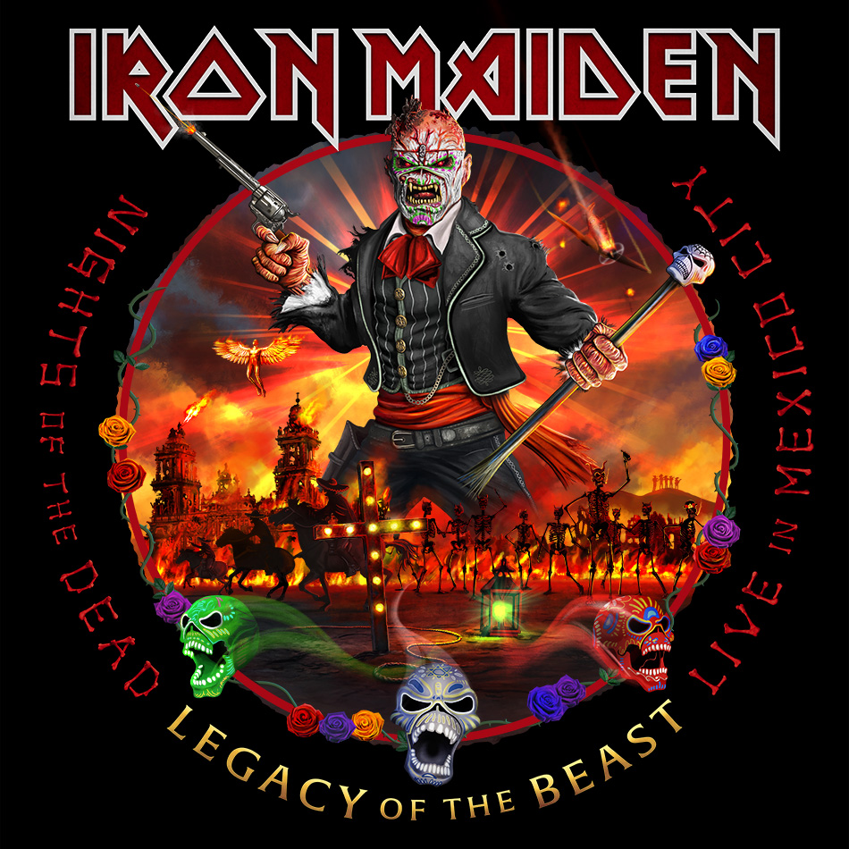 "Iron Maiden ""Nights Of The Dead - Legacy Of The Beast, Live in Mexico City"""