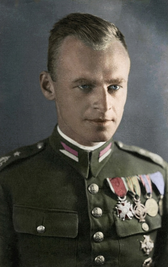Witold Pilecki (1901-1948). Photo: [Public domain]