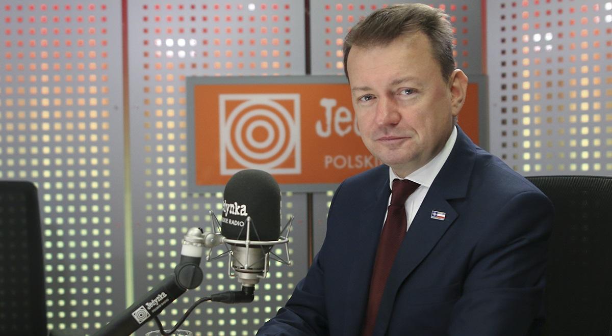 Polish Defence Minister Mariusz Błaszczak