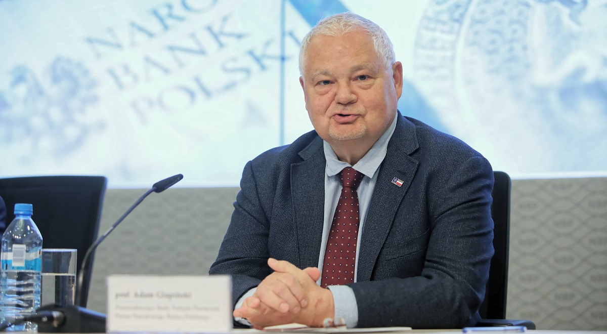 Polish central bank chief Adam Glapiński. Photo: PAPLeszek Szymański