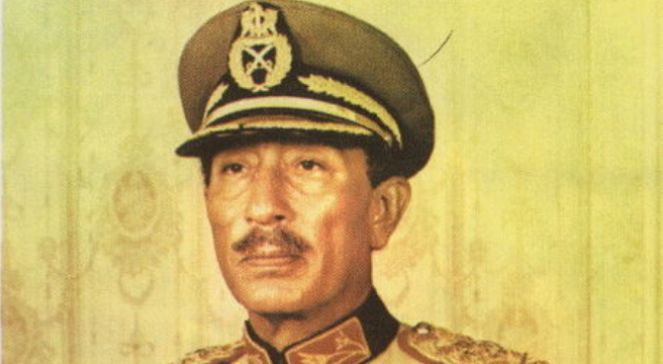 Anwar as-Sadat fot.Vikipedia