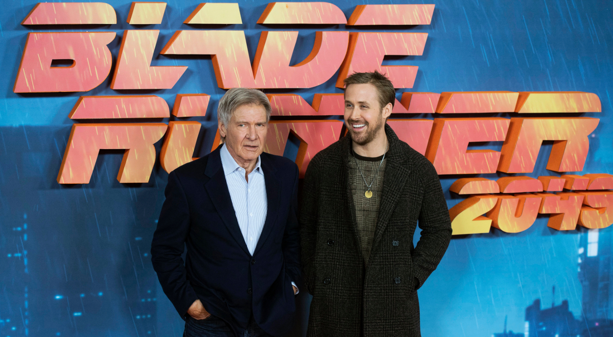 Harrison Ford i Ryan Gosling