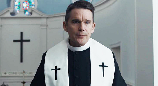Zrzut ekranu z trailera filmu First reformed