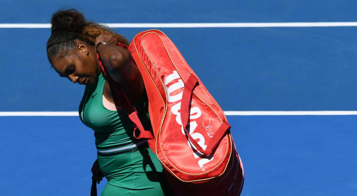 Serena Williams odpadła z Australian Open