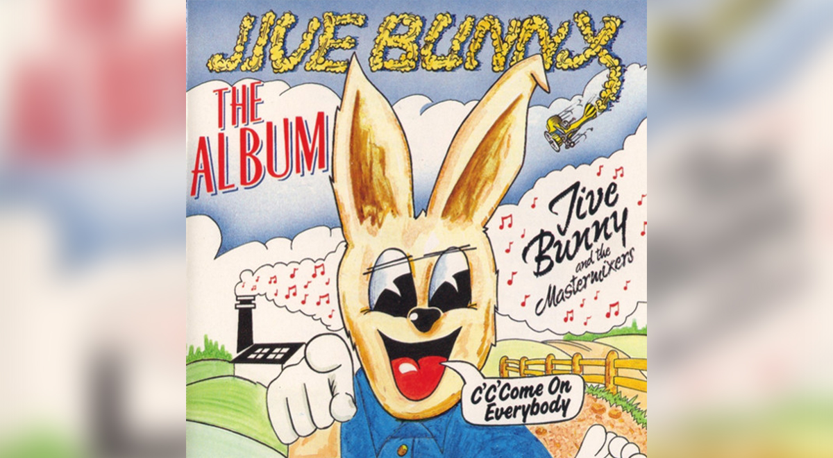 Okładka albumu Jive Bunny The Mastermixes
