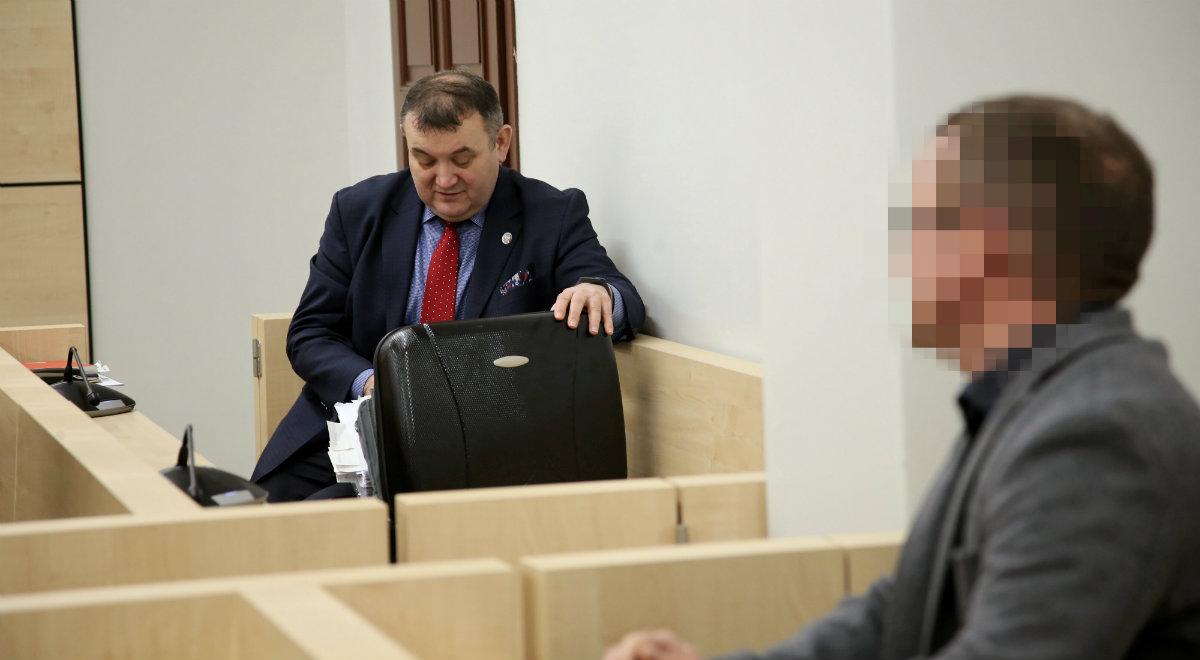 Senator Stanisław Gawłowski i Krzysztof B. w sądzie okręgowym w Szczecinie