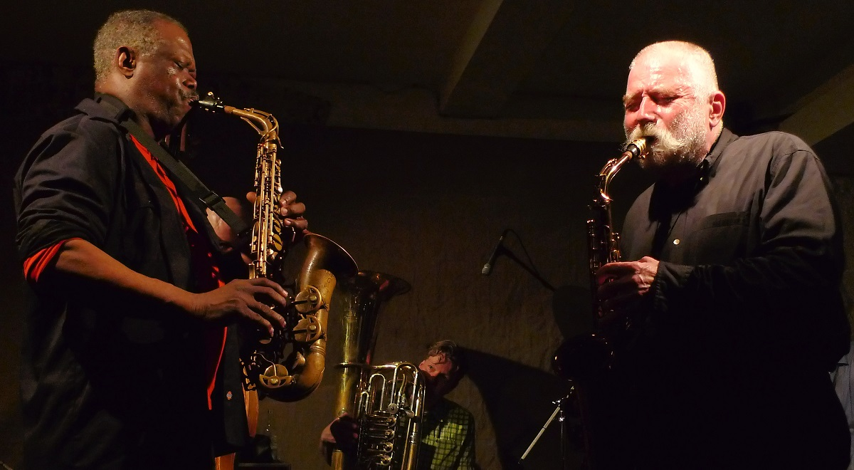 Joe McPhee i Peter Brtzmann