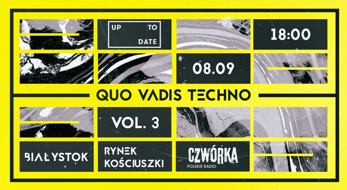 Debata z cyklu Quo Vadis Techno podczas Up To Date Festival