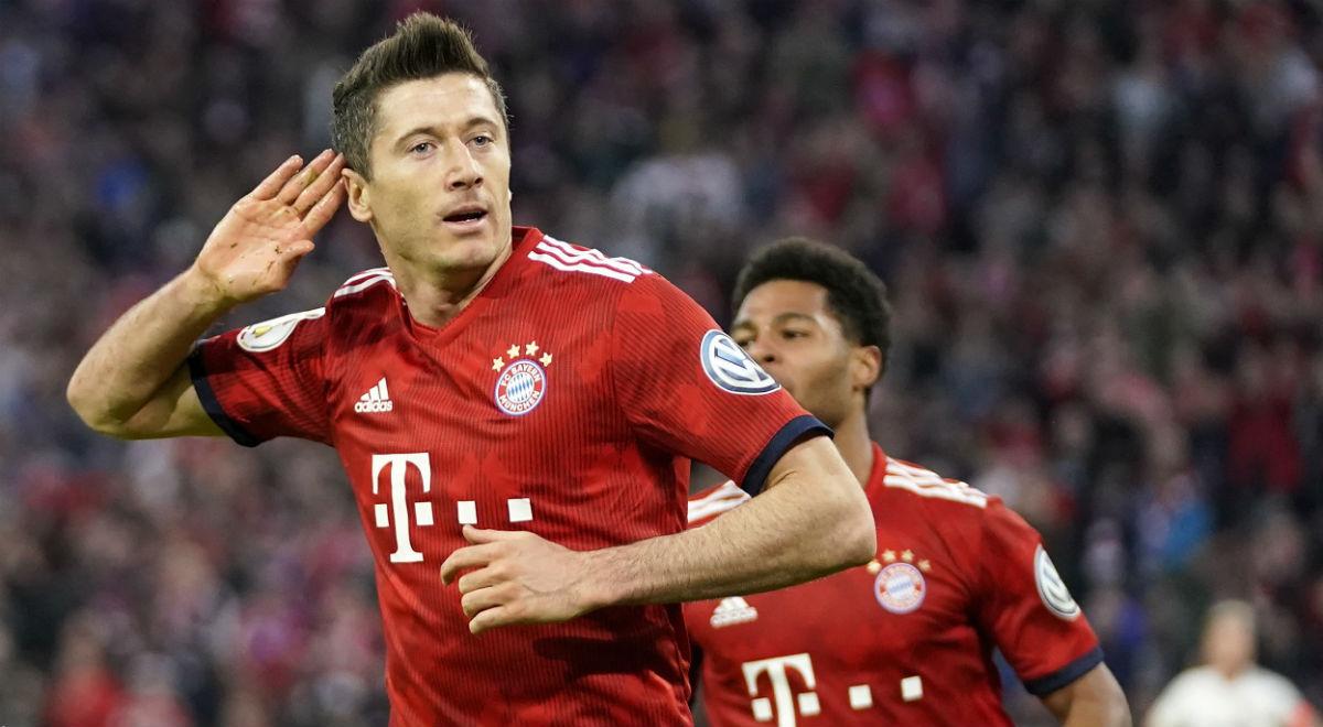 Bundesliga: Robert Lewandowski bramkę od Gerda Muellera