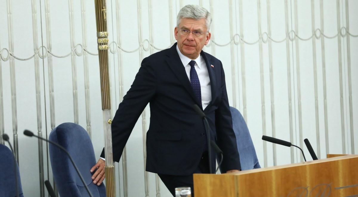 Marszałek Senatu Stanisław Karczewski podkreślił, że Karta Polaka to wielki ukłon wobec Polaków mieszkających za granicą