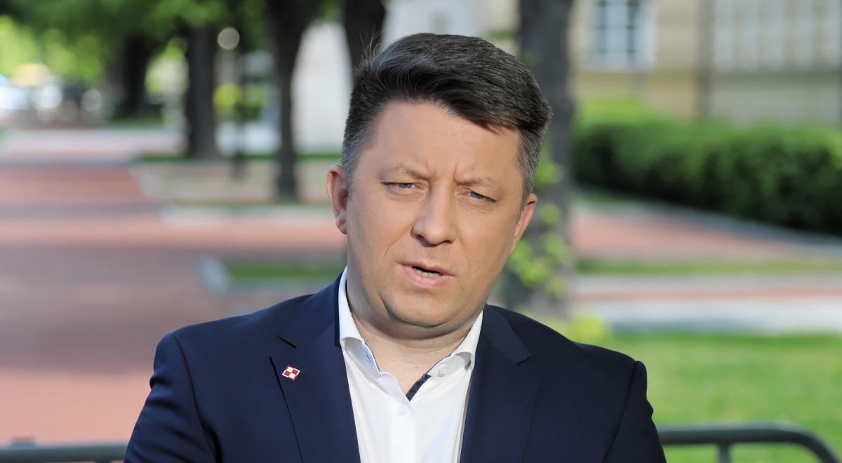 Michał Dworczyk, the man in charge of Poland's COVID-19 vaccination campaign.