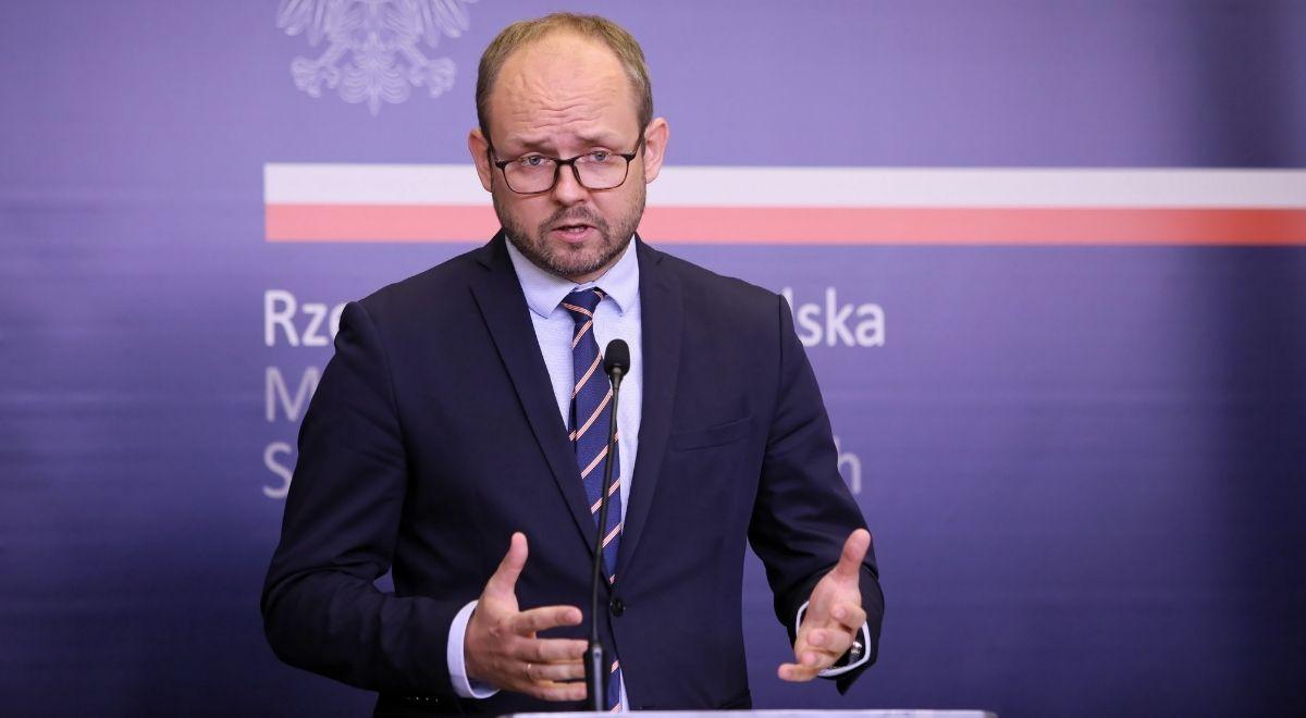 Wiceminister spraw zagranicznych Marcin Przydacz