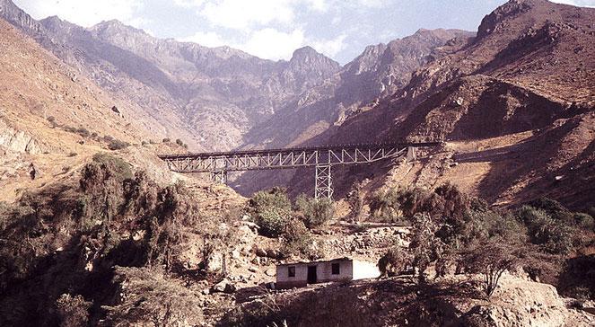 Centralna Kolej Transandyjska w Peru