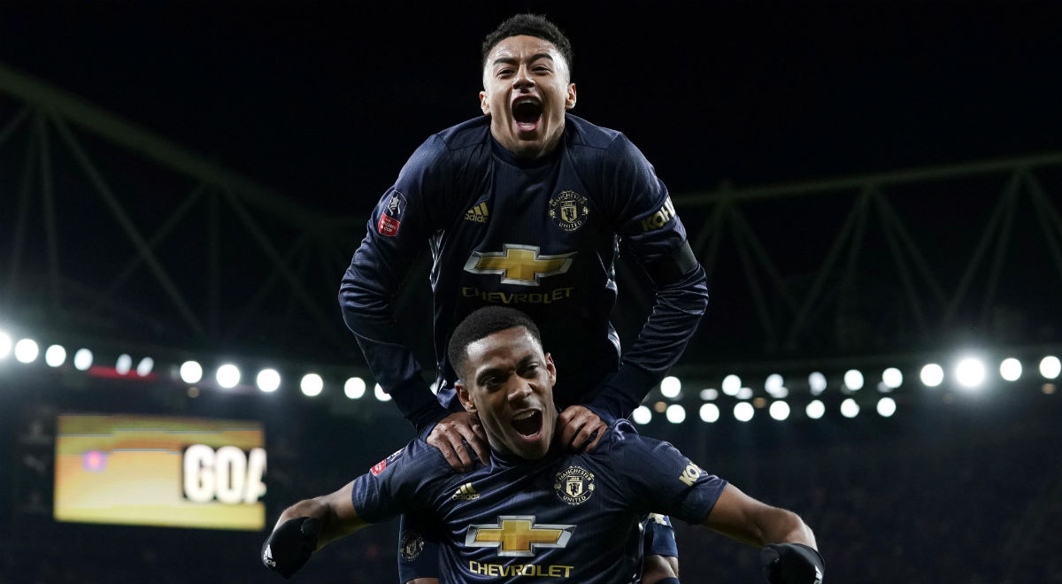 9d6a326ae Puchar Anglii: Manchester United Solskjaera nie zwalnia tempa.