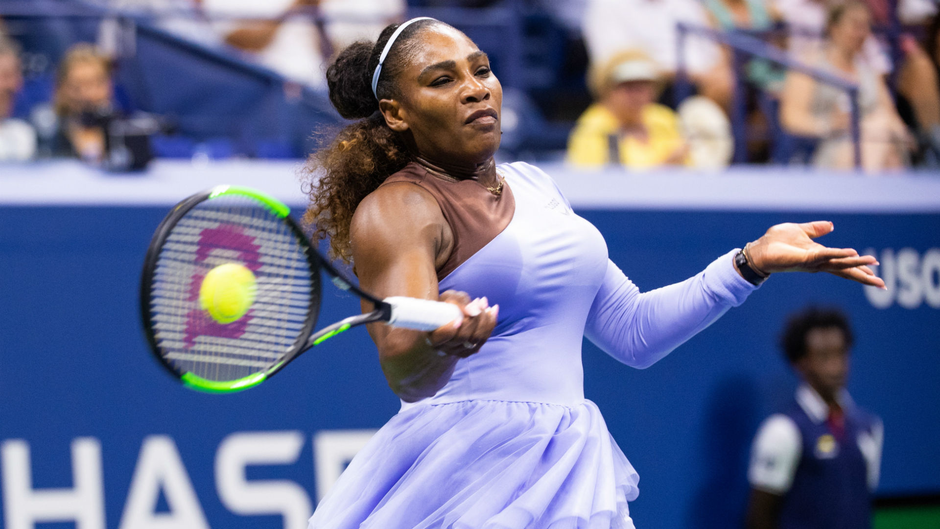 Serena Williams podczas US Open 2018