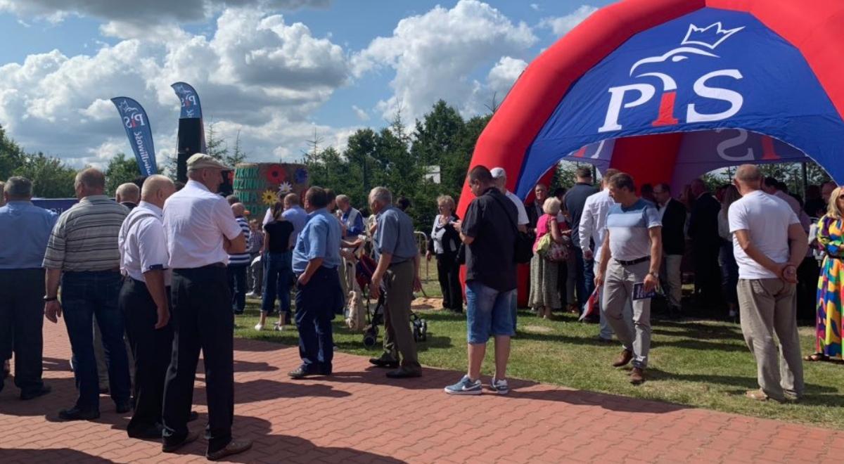 Pierwszy Piknik Rodzinny PiS odbył się w gminie Gózd