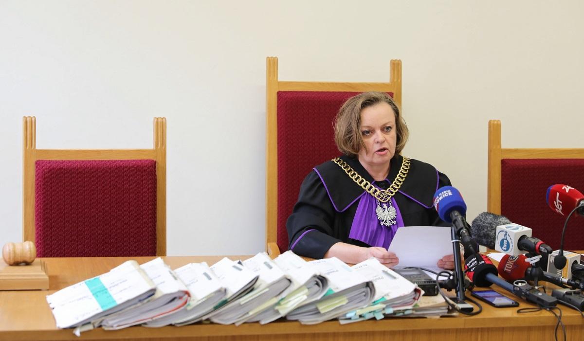 Judge Bożena Klimaszewska.