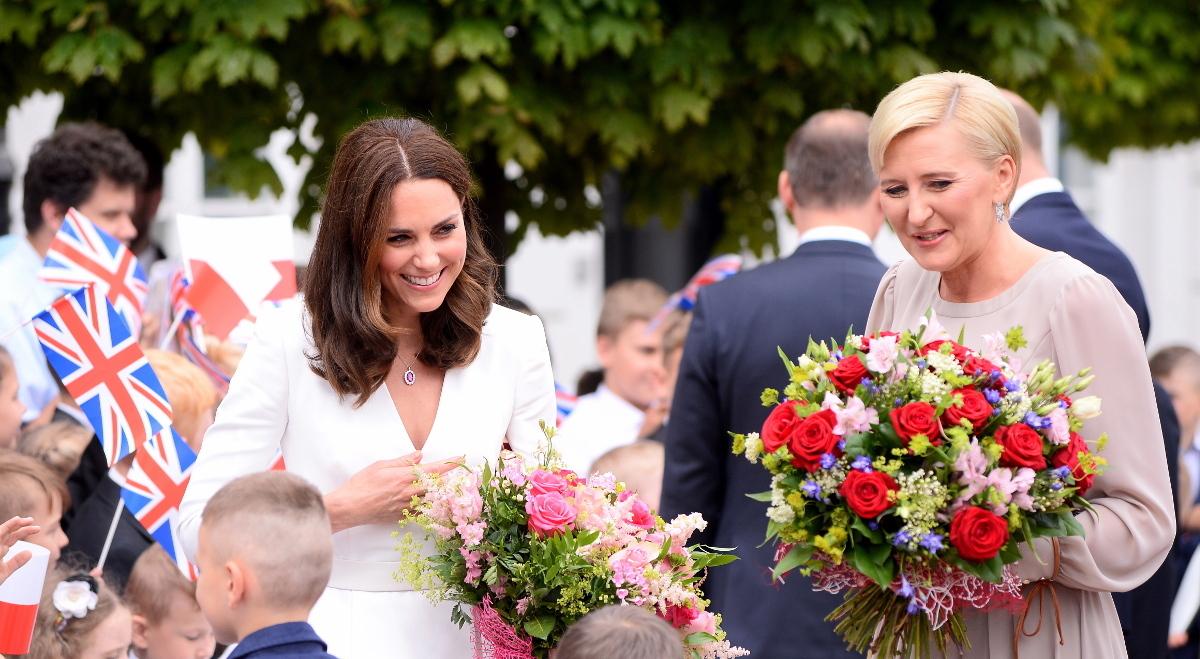 43c972d37c Księżna Kate i pierwsza dama Agata Kornhauser-Duda.
