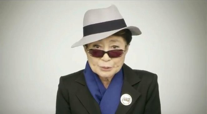 Yoko Ono w akcji Dont Franck My Mother