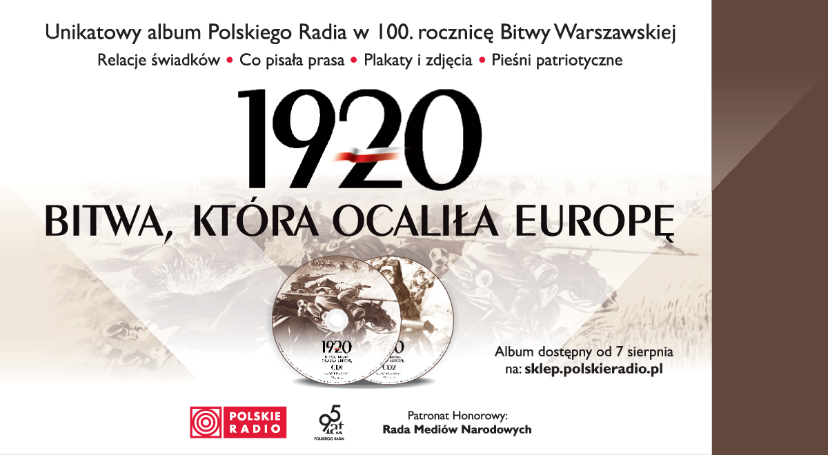 Unikatowy album Polskiego Radia w 100. rocznicę Bitwy Warszawskiej