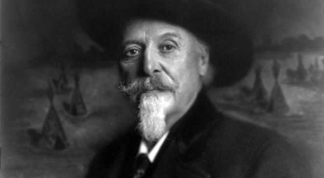 Buffalo Bill, 15 stycznia 1911, autor: Miss Reineke, Kansas City,źr. Biblioteka Kongresu USA, Wikimedia Commonsdp