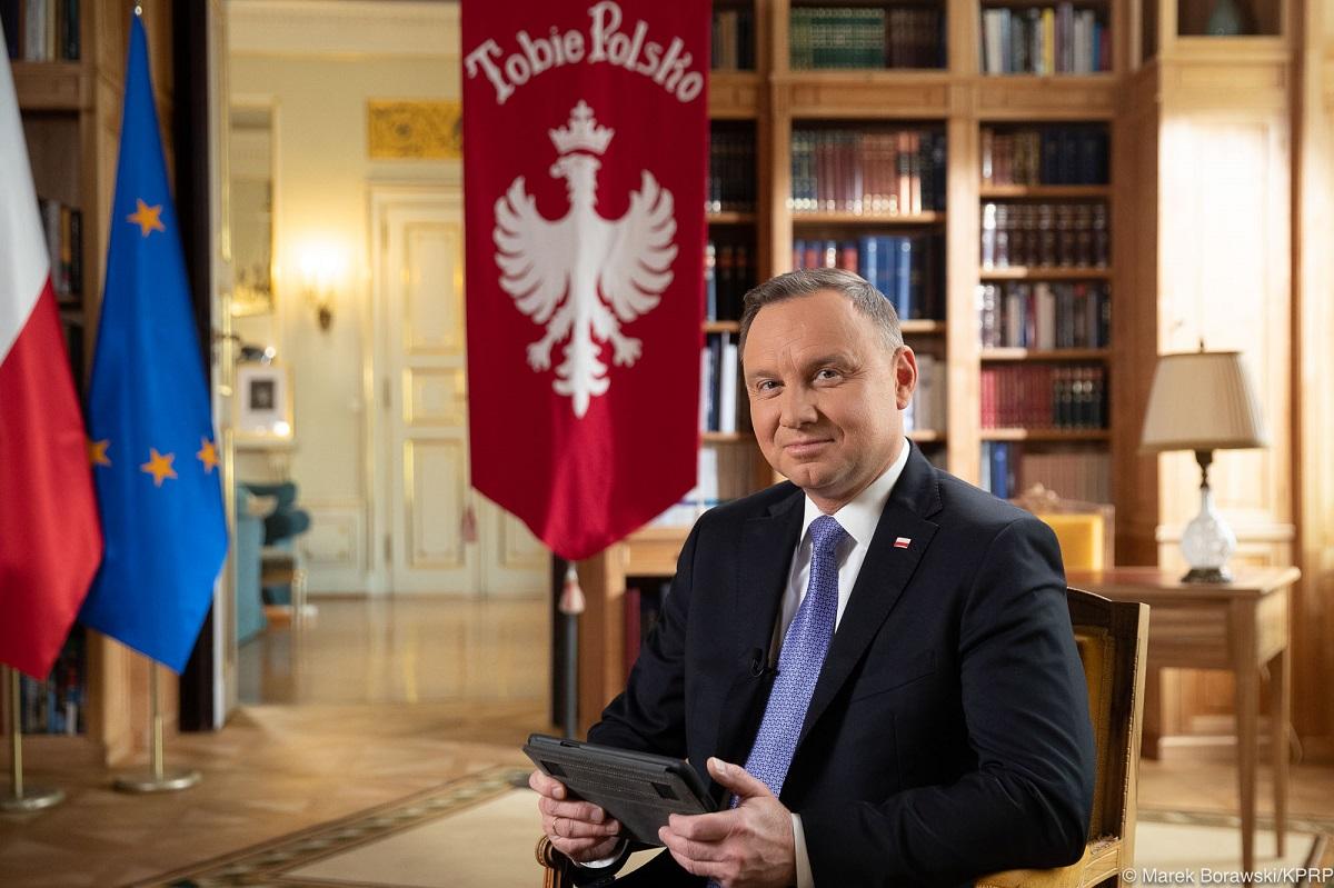 Polish President Andrzej Duda.