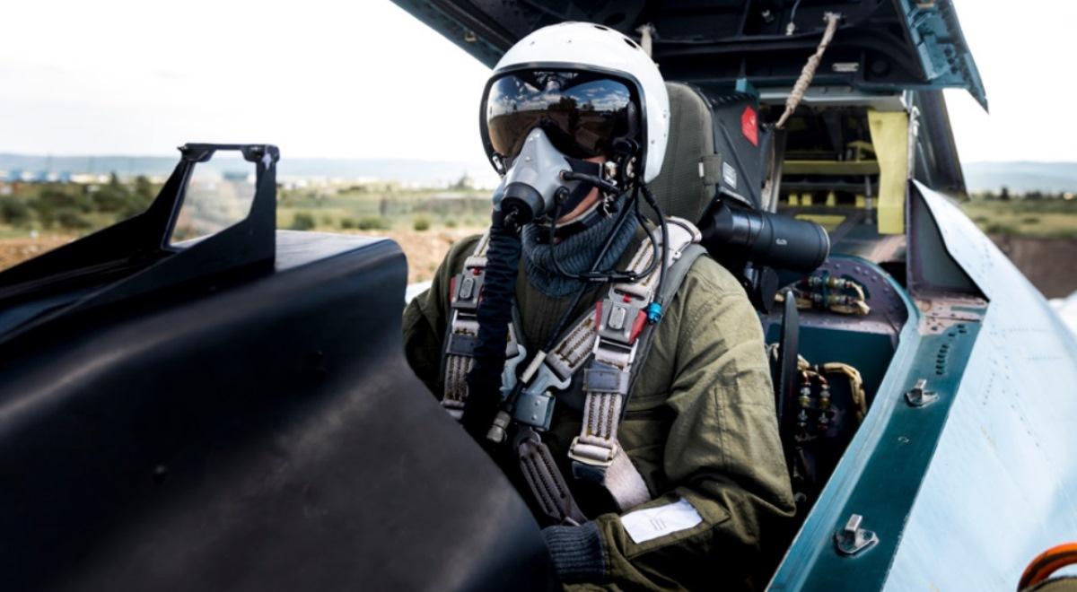 Pilot rosyjskich sił powietrznych