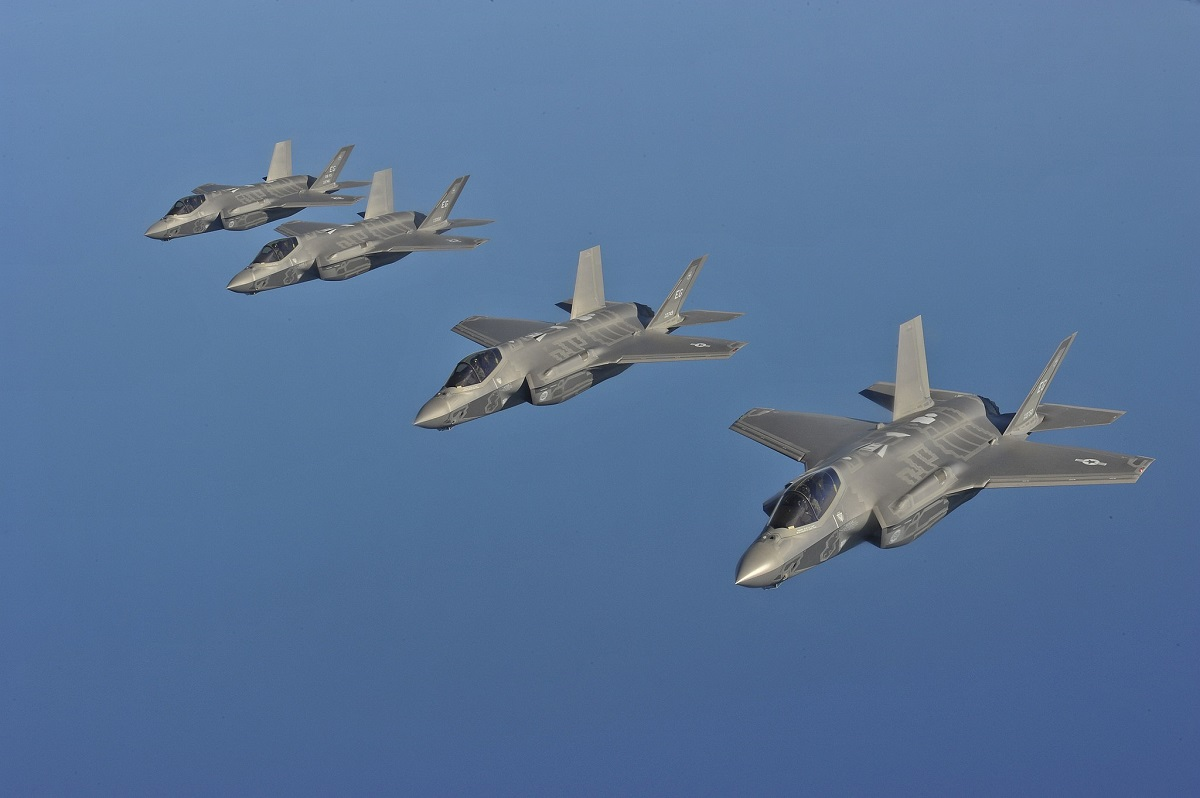F-35A fighter jets Wikimedia Commons.jpg