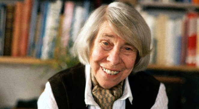 Tove Jansson,  1988 r.  EPA PHOTO LEHTIKUVA FILESHANS PAUL