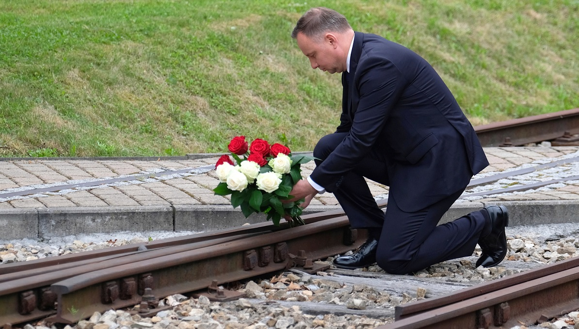 Andrzej Duda at Sundays commemorations