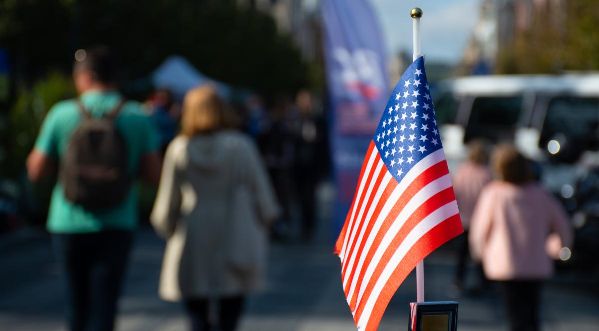 usa wybory flaga Stany Zjednoczone 1200.jpg