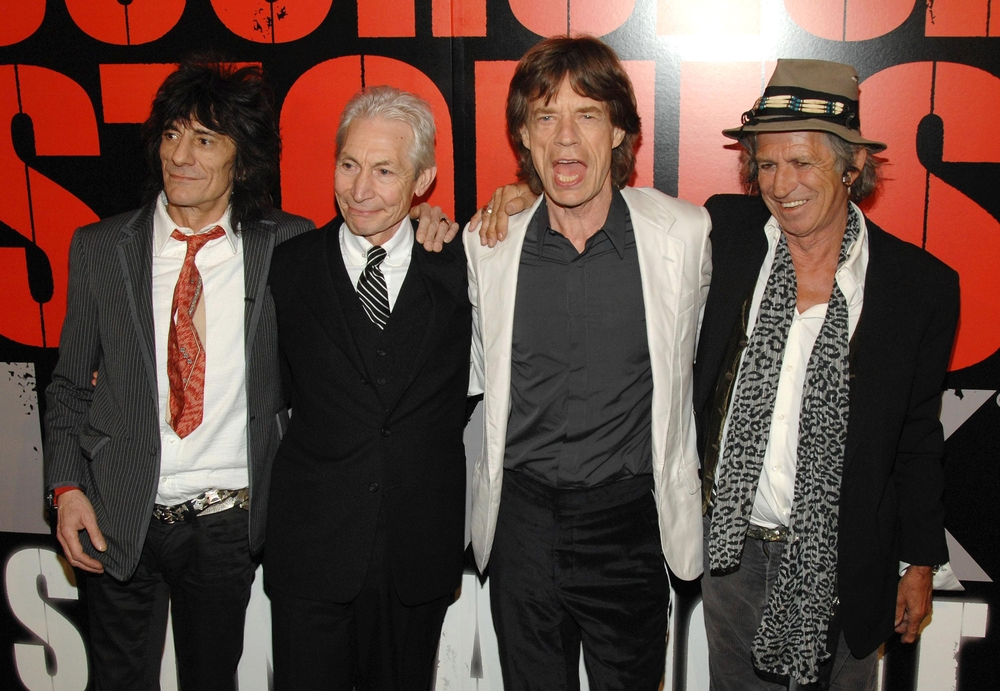 The Rolling Stones (foto: shutterstock.com/Everett Collection)