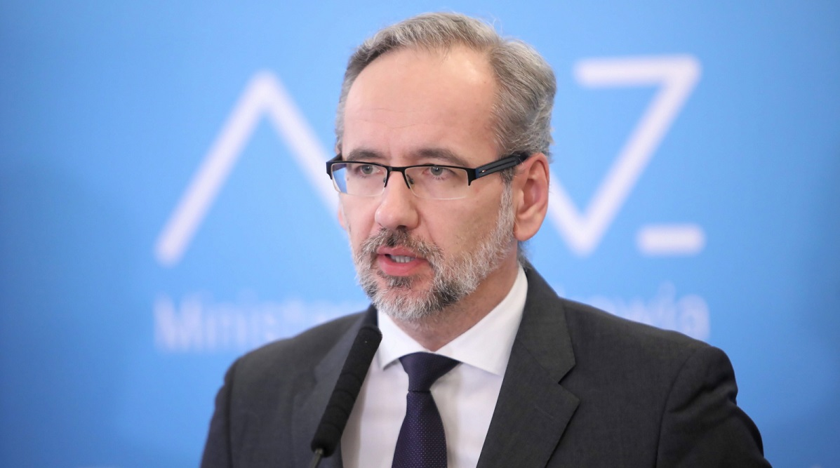 Adam Niedzielski. Photo: PAP/Leszek Szymański