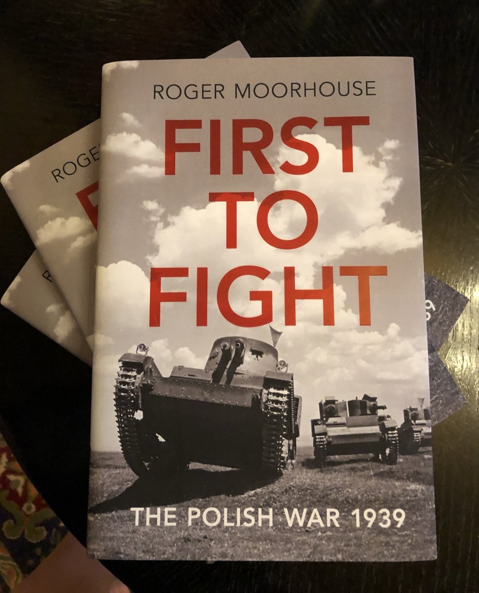 The book by Roger Moorhouse was launched at the Polish embassy in London last year.