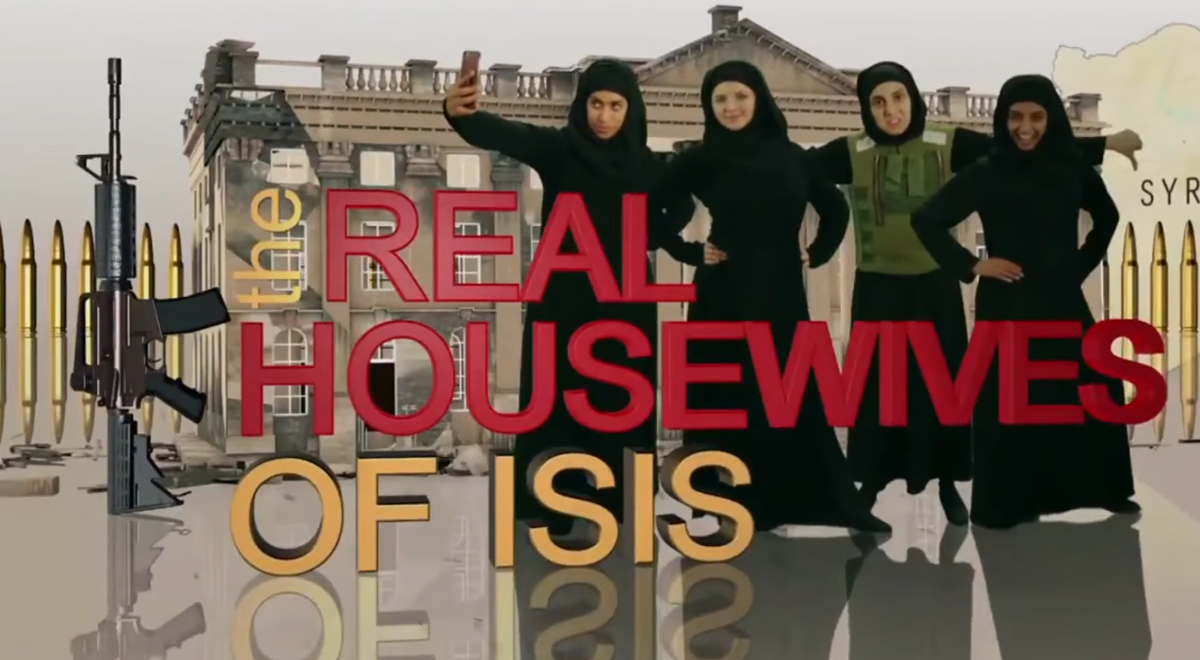 Kadr ze skeczu Real Housewives of ISIS