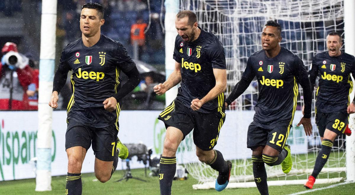 bcb130644 Serie A: Juventus Turyn wygrał w Rzymie z Lazio, decydujący gol Ronaldo -  Wiadomości - polskieradio24.pl