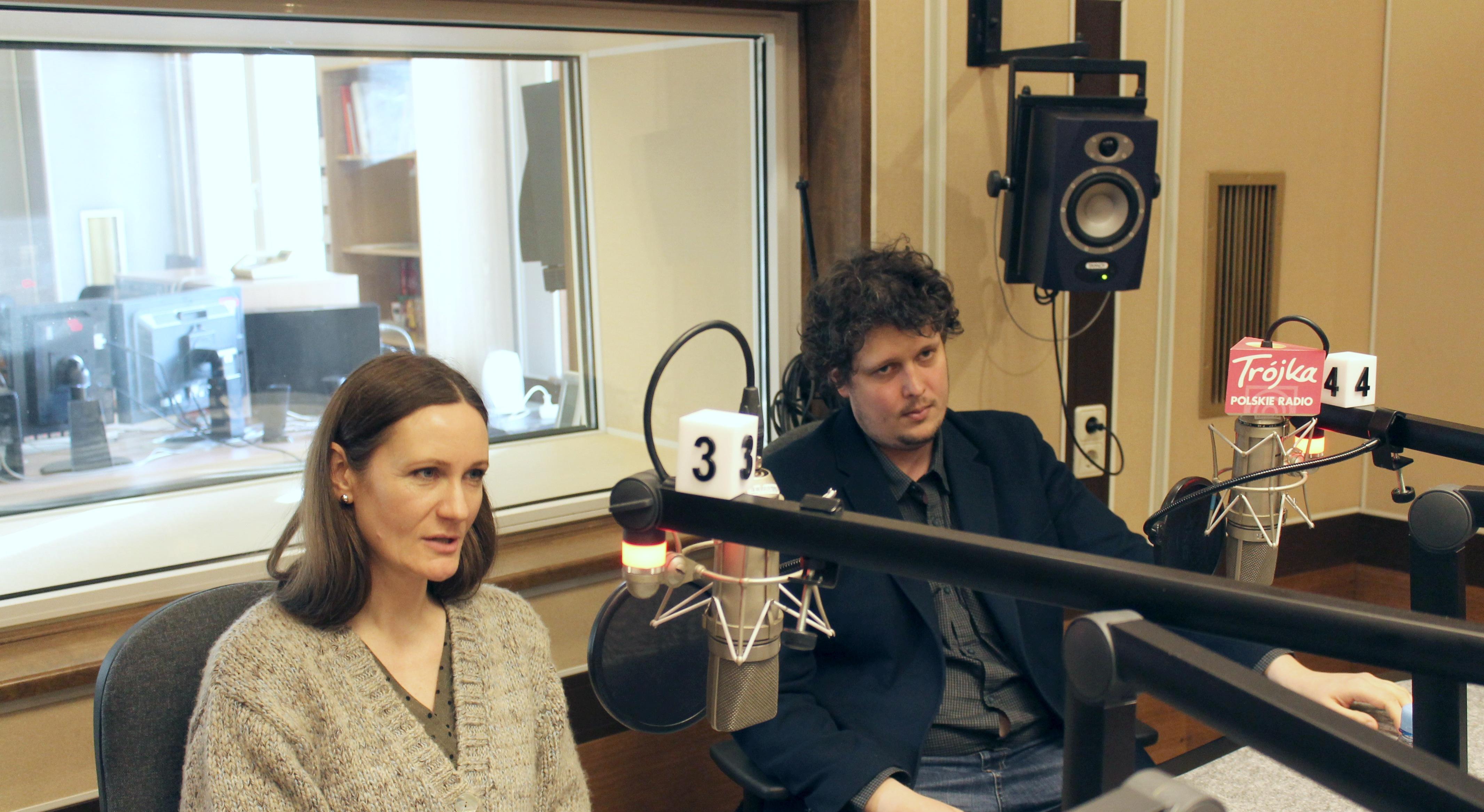 Anna Wieczur-Bluszcz i Mateusz Żaboklicki/Foto: Wojciech Dorosz