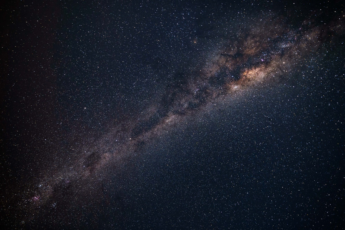 The Milky Way galaxy. Photo: pexels.com